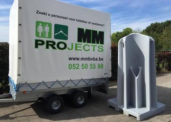 MM Projects - Toilet huren